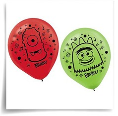 12IN Yo Gabba Gabba Latex Balloons