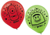 gabba latex balloons blow printed pack