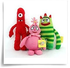 3 Piece Set Plush Doll Toy