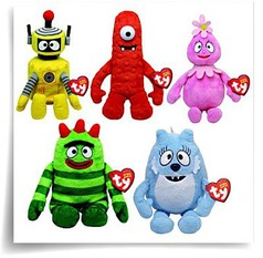 Specials Beanie Baby Set Of 5 Yo Gabba Gabba Plush