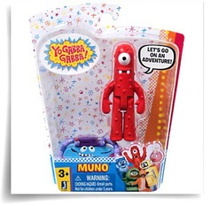 Yo Gabba Gabba 3 Muno Figure With Accessory
