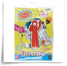 Specials Yo Gabba Gabba Bath Time Fun Bath Buddies