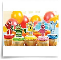 Specials Yo Gabba Gabba Cake Toppers Party Accessory