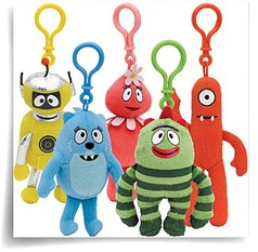 Yo Gabba Gabba Plush Clip On Party Accessory