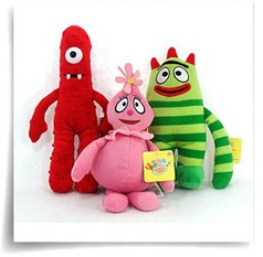 Specials Yo Gabba Gabba Set Of 3 Plush Dolls Muno