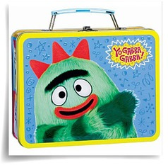 Yo Gabba Gabba Tin Box Carry All
