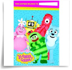 Yo Gabba Gabba Treat Bags Party Accessory