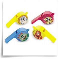Yo Gabba Gabba Whistles Party Accessory