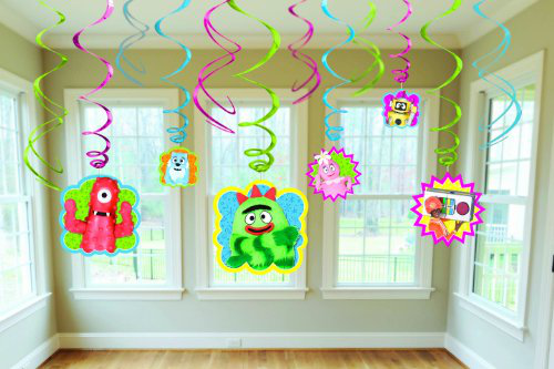 Yo Gabba Gabba Hanging Swirl Value Pack